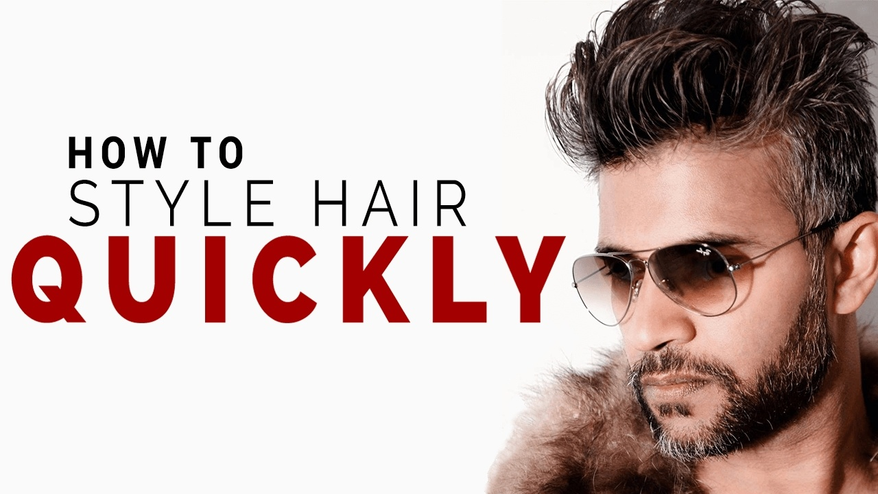 Style Hair QUICKLY Using These 5 Tips