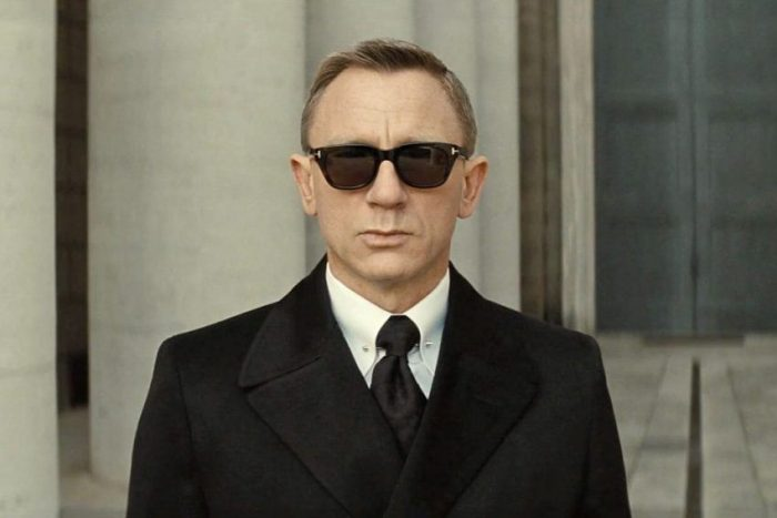 James Bonds Spectre Sunglasses Tom Ford Snowdons at the funeral.