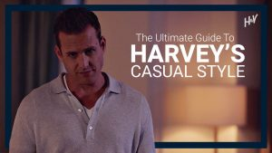 Harvey Specter's Casual Clothing
