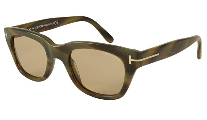 James Bonds Spectre sunglasses Snowdon in horn brown.