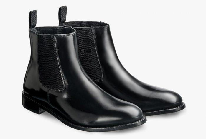 Samuel Windsor's Prestige Chealsea Boots in black.