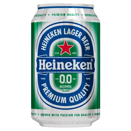 James Bond's favourite beer, Heineken.