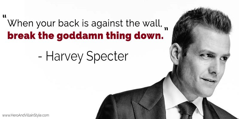 A quote on breaking walls down that get in your way.