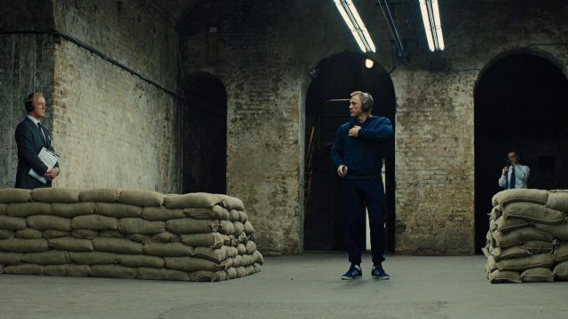 Daniel Craig wearing one of the best men's trainers, the Gazelles, in Skyfall.