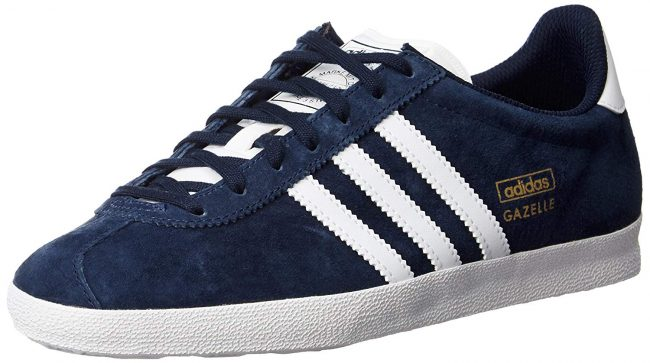 Adidas Gazelle pointing to the left.