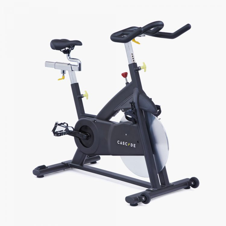 An exercise bike.