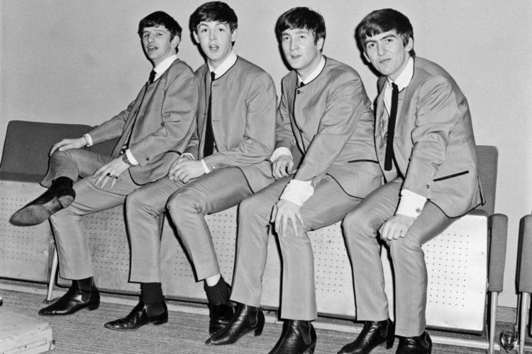 The Beatles in Chelsea boots.