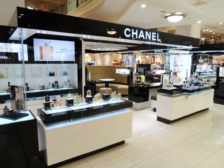 Chanel booth which will help you how to find your perfect perfume.