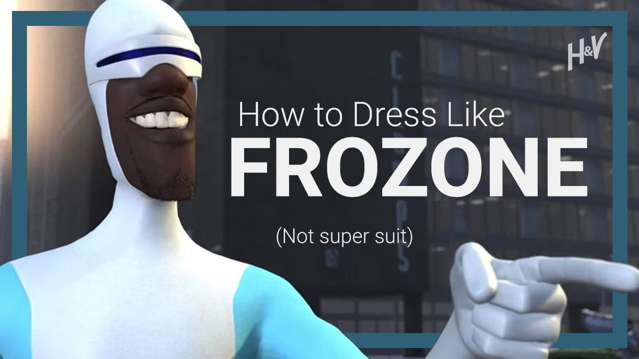 Frozone Style – How to DRESS Like Frozone