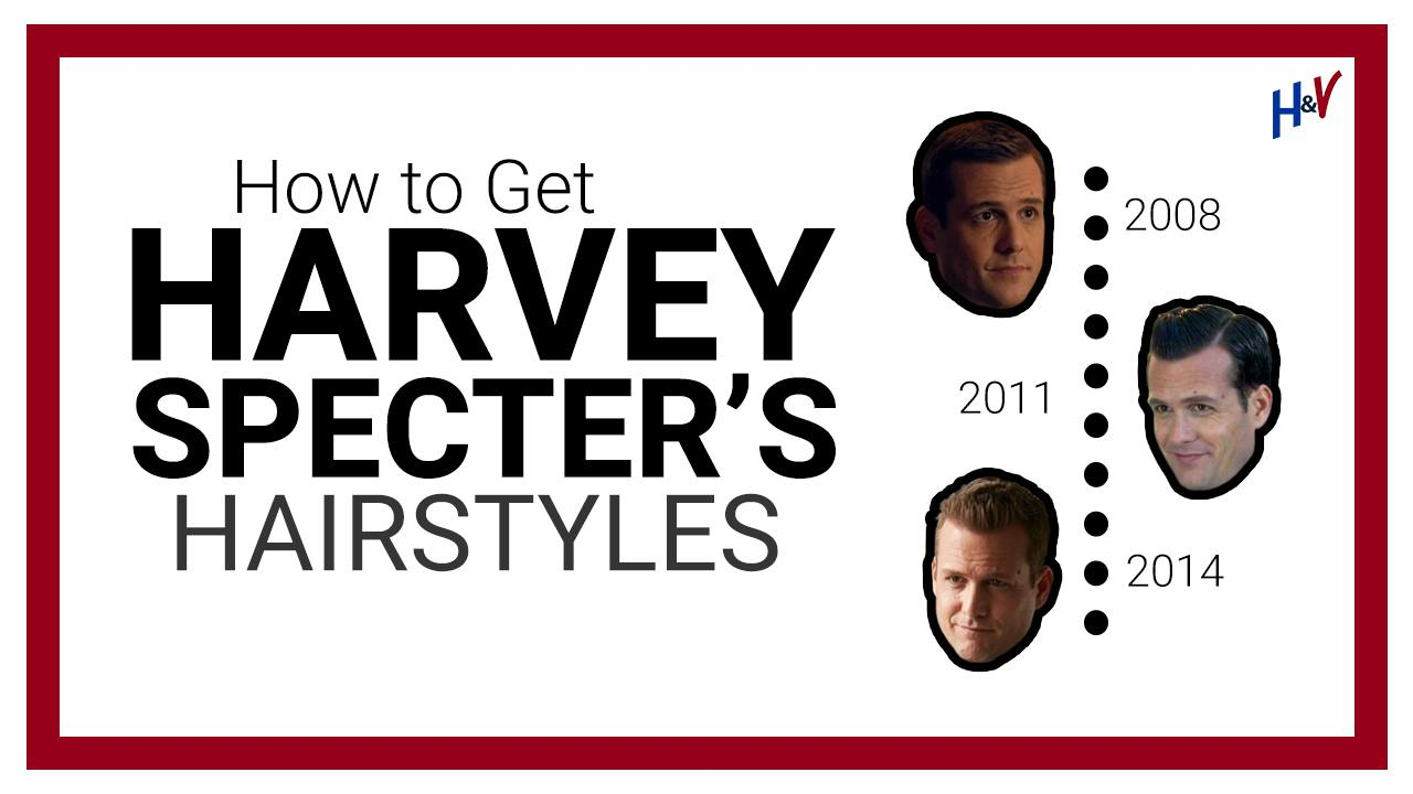 Harvey Specter's Haircuts (And HOW to Get Them)
