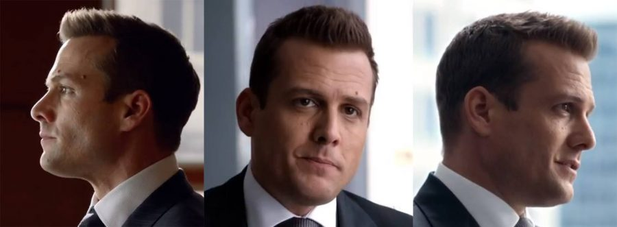 Harvey Specter's short haircut reel.