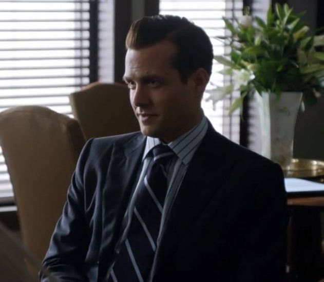Harvey sitting in a chair.