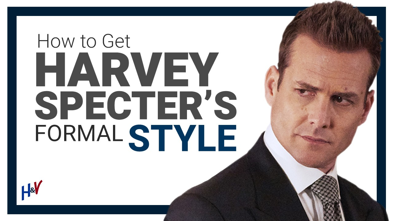 How to Dress Like Harvey Specter: Suits, Shoes, Ties & More