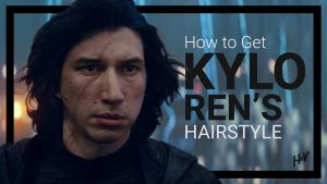The Kylo Ren Hairstyle (and HOW to get it)