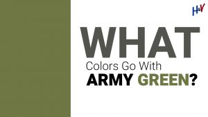What Colors Go With Army Green?