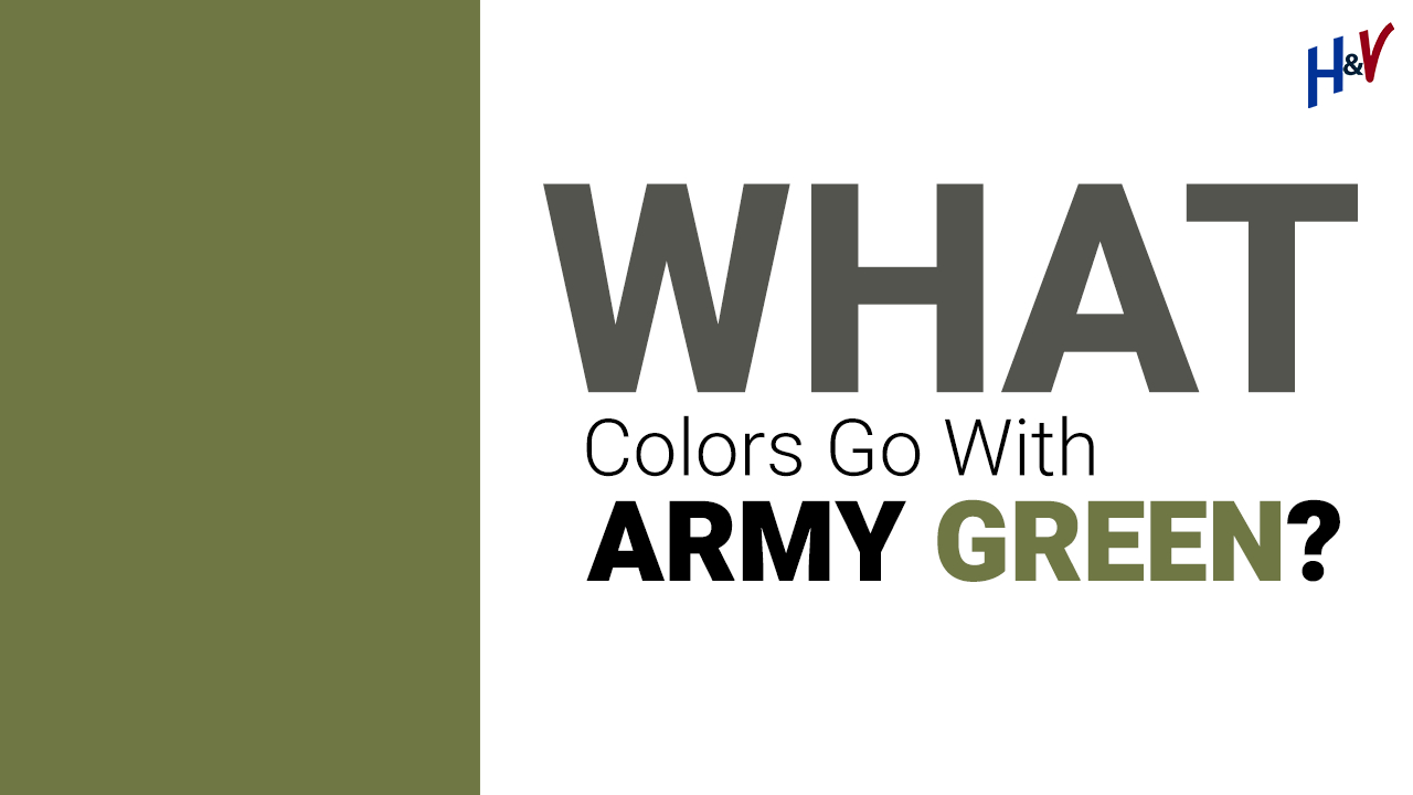 What Colours Go With Army Green?