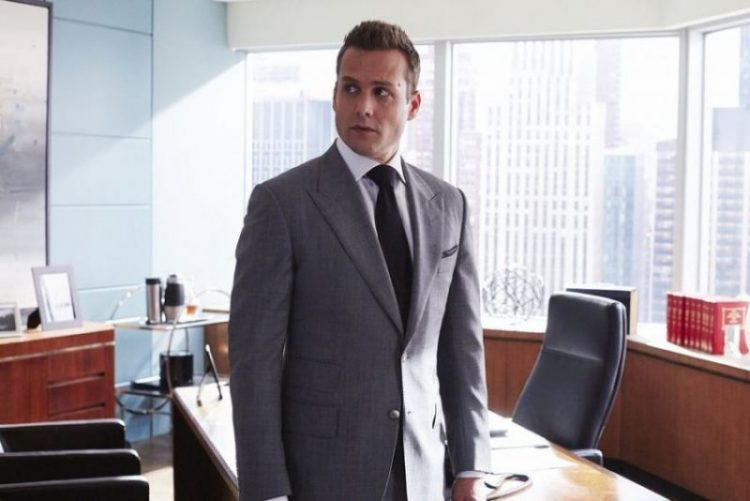 Harvey Specter's outfit style.