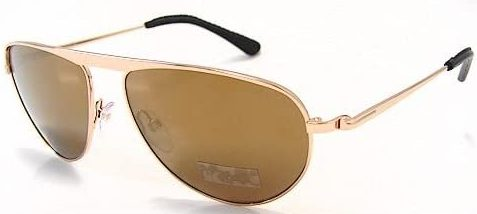 Brown Tom Ford FT108 sunglasses.