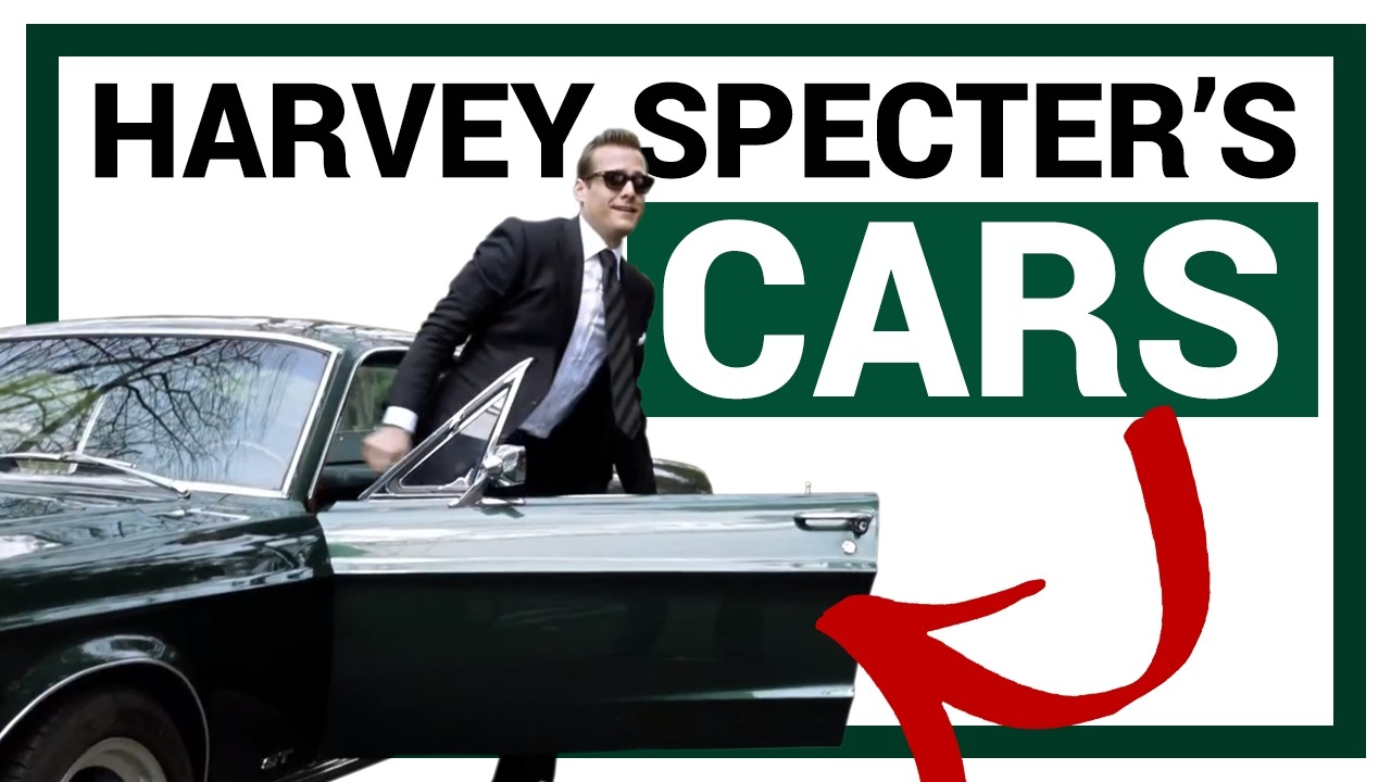 The Ultimate Harvey Specter Car Collection