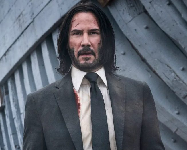 The typical John Wick haircut