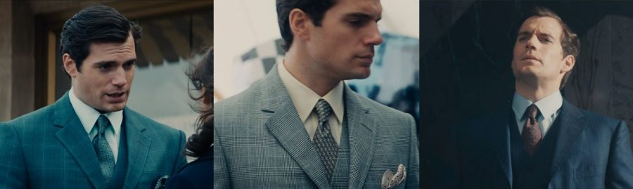 Napoleon Solo's Man From Uncle tie fashion