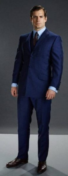 The Man From Uncle royal blue suit