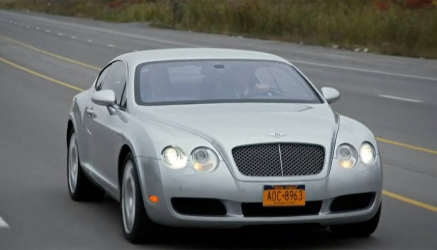 2004 Bentley Continental GT on a road