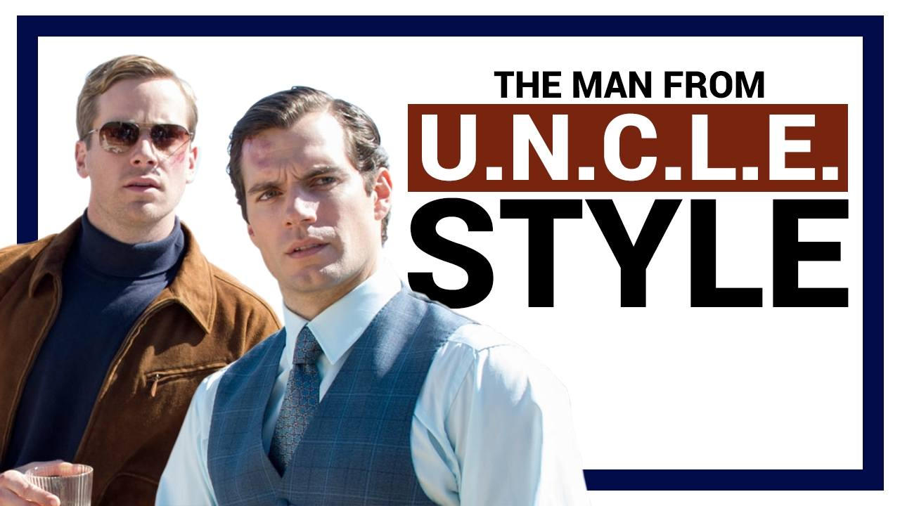 The Man From UNCLE Fashion & Style Guide