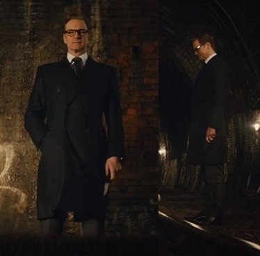 How to Dress like a Kingsman style overcoat