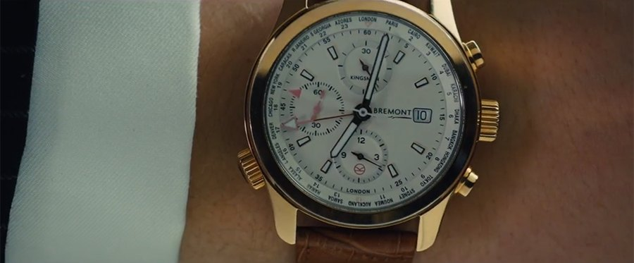 Bremont Kingsman watch on Eggsy's wrist