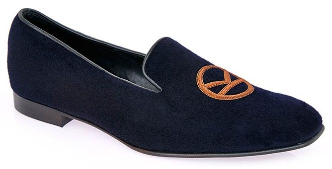 Kingsman shoe velvet slipper
