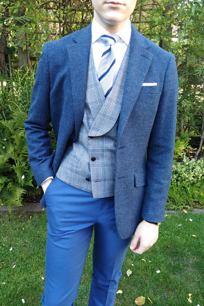 How to wear a vest without a suit