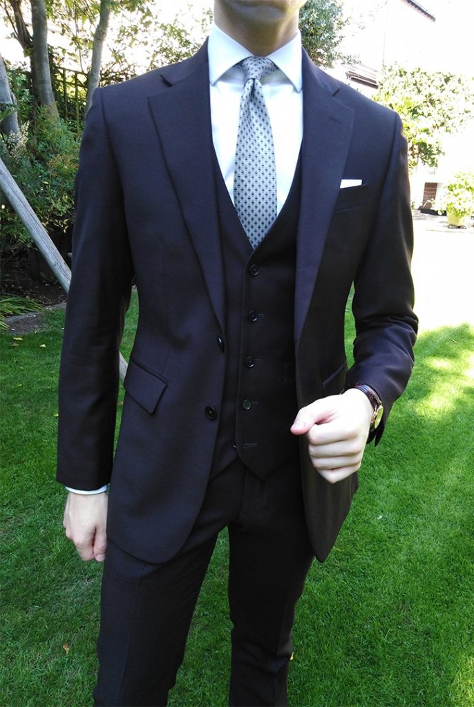 How to wear a waistcoat with a suit