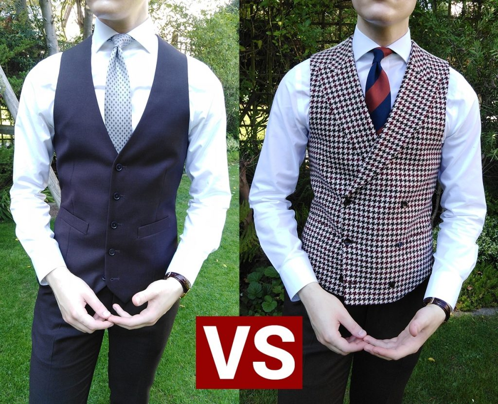 How to wear a waistcoat buttoning stystems