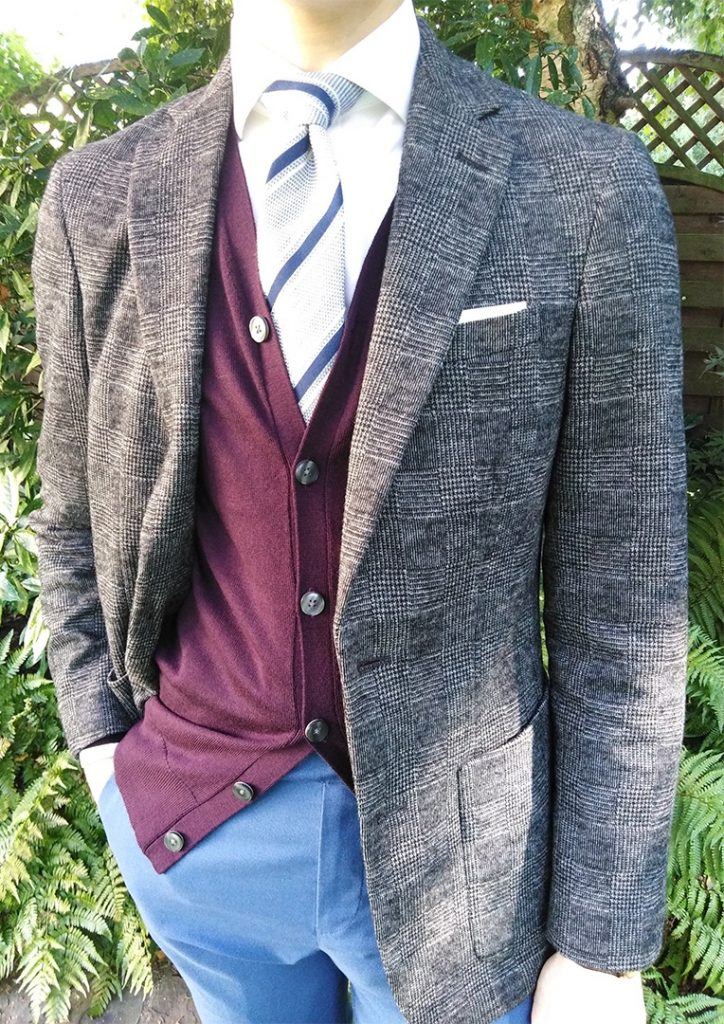 Awesome knitted cardigan look