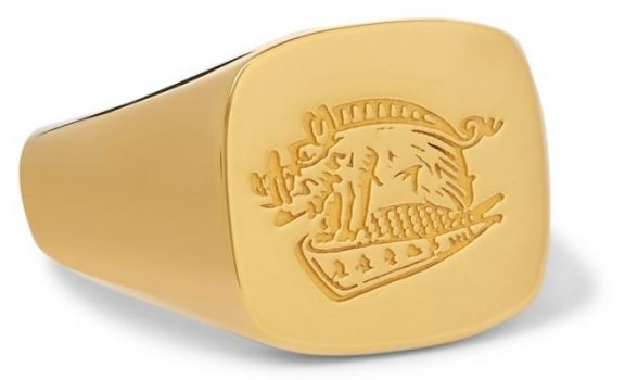 How to dress like a Kingsman signet ring