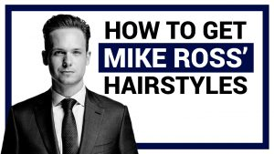 Mike Ross' Haircuts From Suits (And How to Get Them)