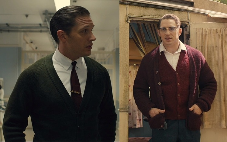 How to Dress Like the Krays in cardigans.