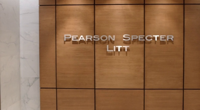 The Suits Pearson Specter Litt sign