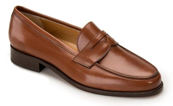 Brown Bruar loafer is a shoe to wear with chinos