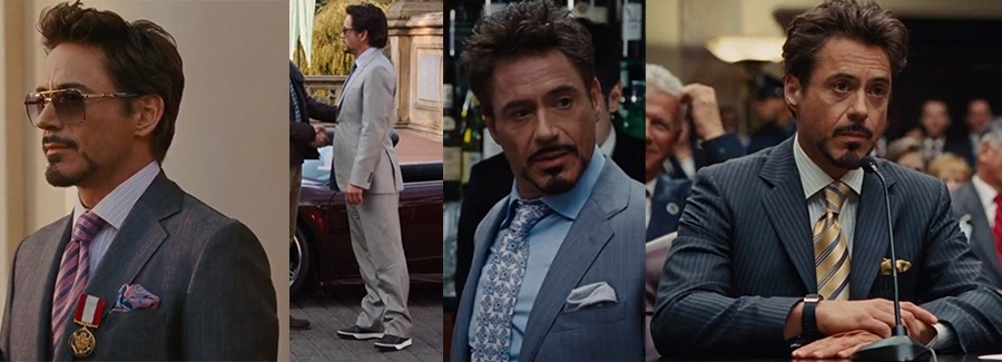 How to Dress like Tony Stark in light coloured suits