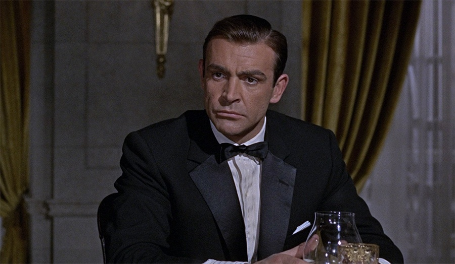 Sean Connery with one of the notched lapel Tuxedo styles
