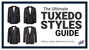 The Tuxedo Styles Guide: Lapels, Materials & Which to Wear