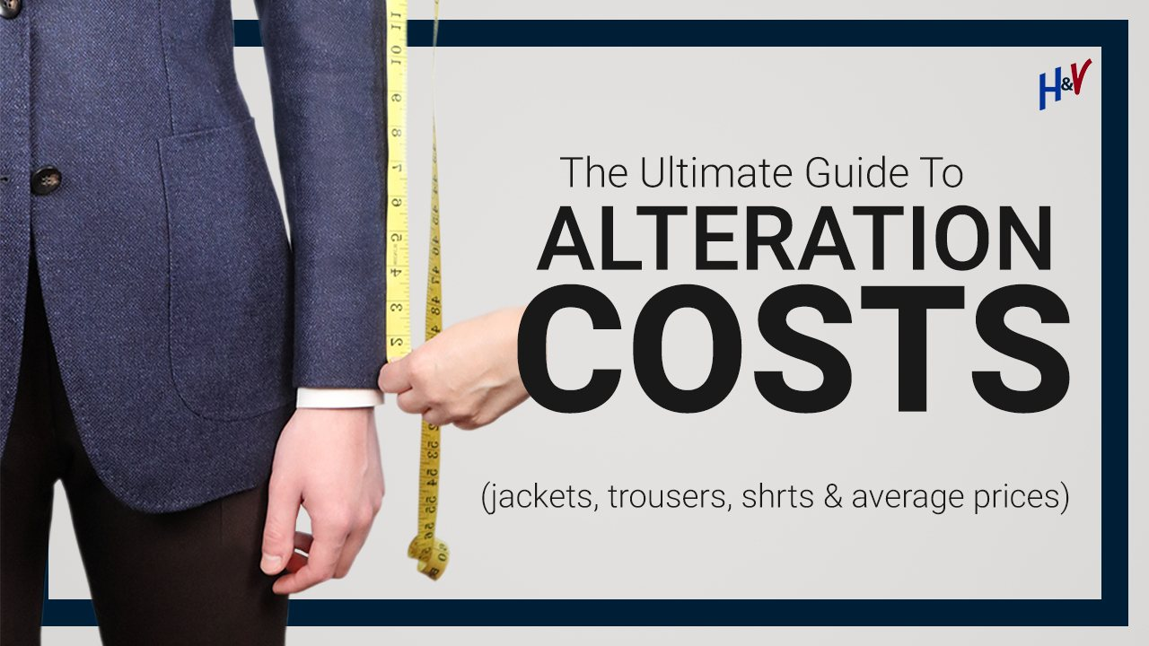 How Much Should Alterations Cost? Average Tailoring Prices